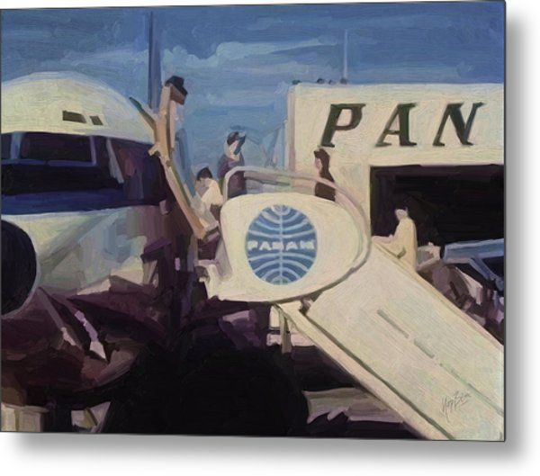 Pan American Airways Boeing 707 Metal Print