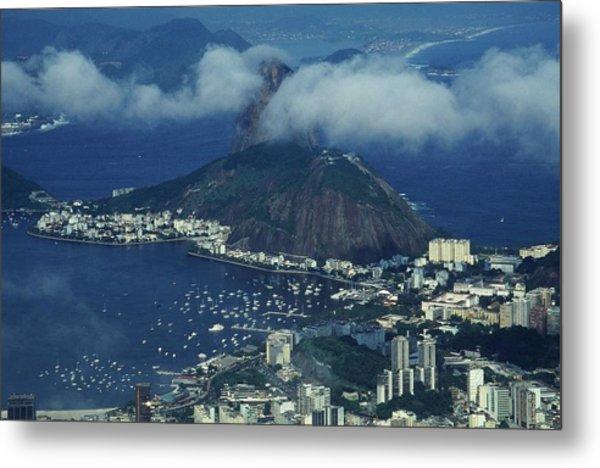 Pan De Azucar - Rio De Janeiro Metal Print