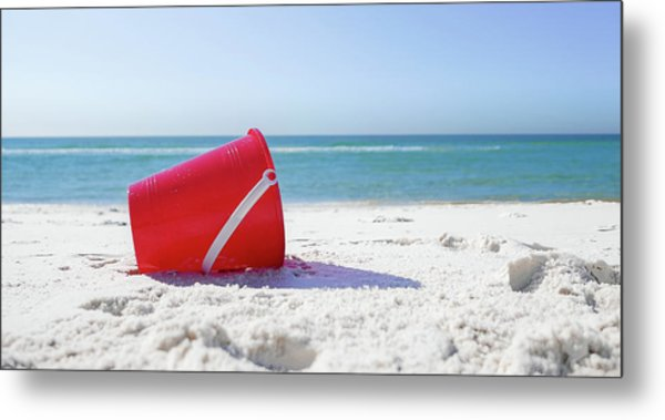 Panama Beach Florida Sandy Beach Metal Print
