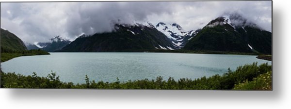 Panorama Of Cold Lake Metal Print