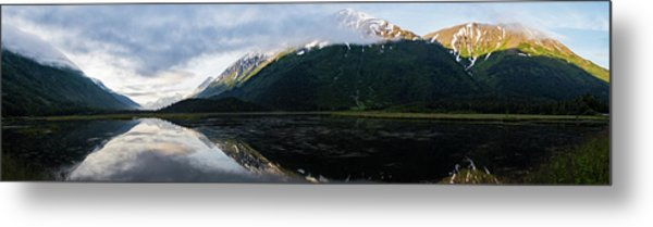 Panoramic View Of Tern Lake Metal Print