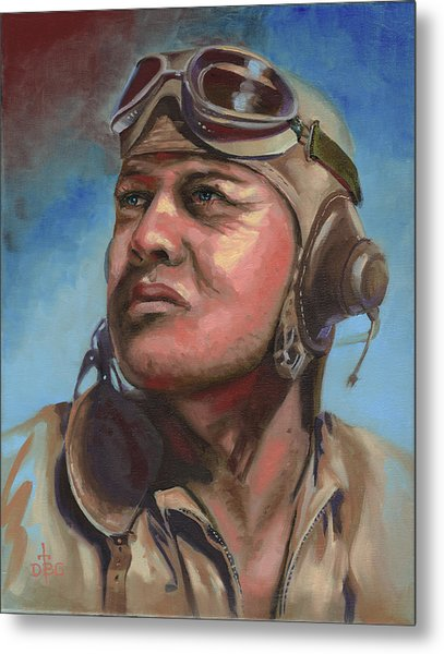 Pappy Boyington Metal Print
