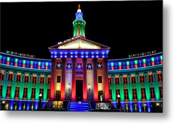 Parade Of Lights Origin Metal Print