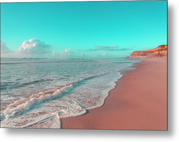 Paradisiac Beaches Metal Print