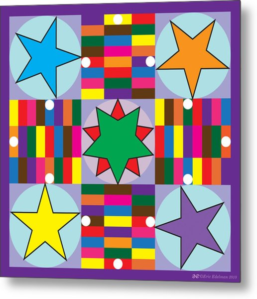 Parcheesi Board Metal Print