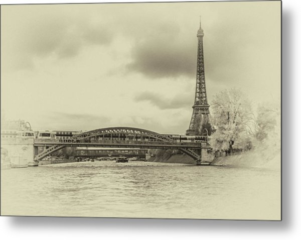 Paris 2 Metal Print
