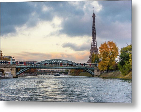 Paris 3 Metal Print