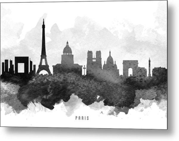 Paris Cityscape 11 Metal Print