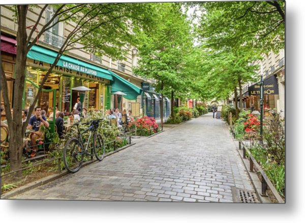 Paris In The Spring  Metal Print