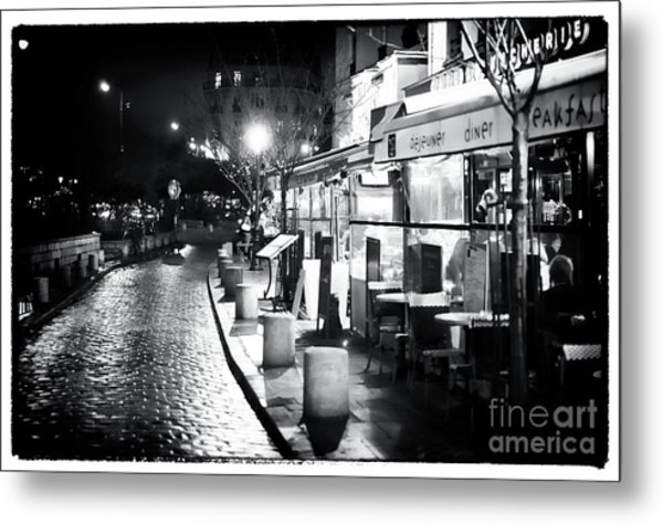 Paris Nights Metal Print