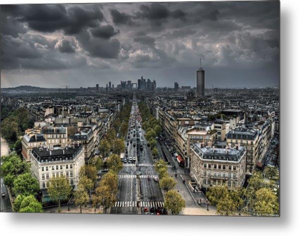 Paris No. 2 Metal Print
