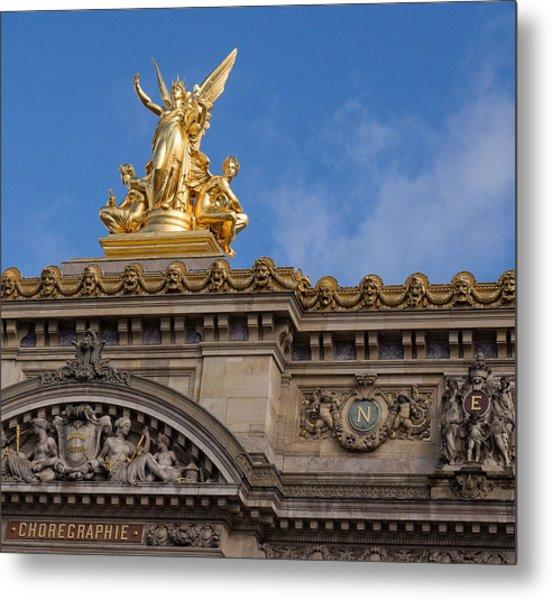 Paris Opera - Harmony Metal Print