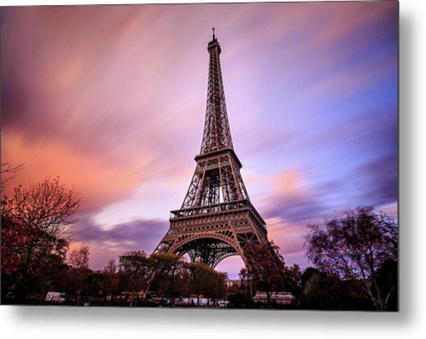 Paris Pastels Metal Print