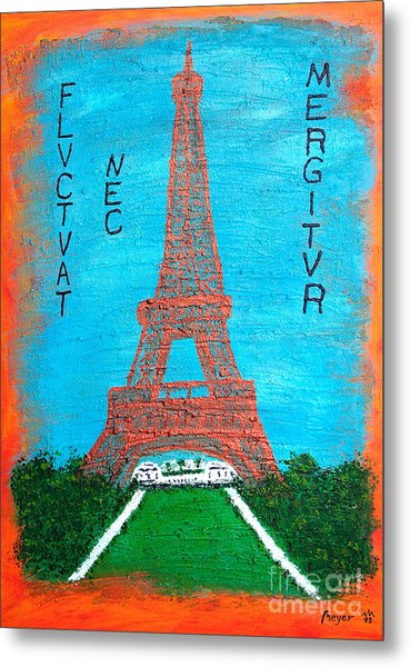 Paris Metal Print by Sascha Meyer