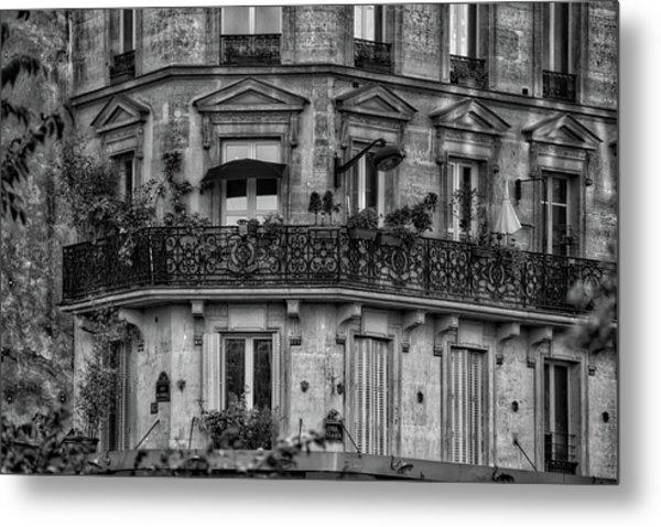 Parisian Apartment Metal Print