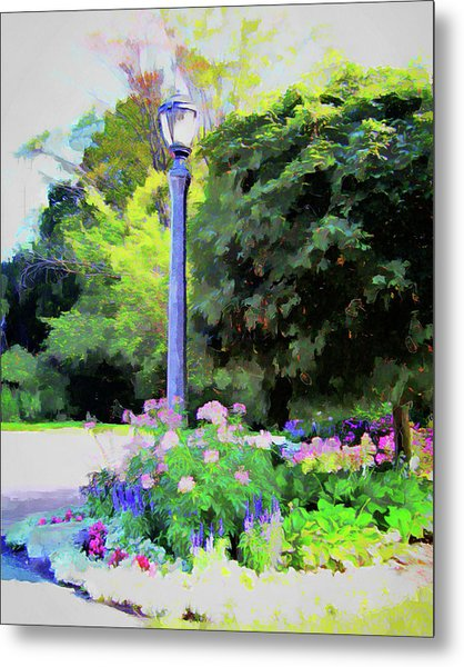 Park Light Metal Print