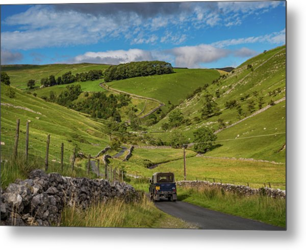 Park Rash Metal Print by Yorkshire In Colour