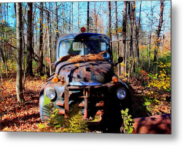 Parked Metal Print by Tom Johnson