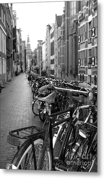 Parking Spot Metal Print by Sophie Vigneault