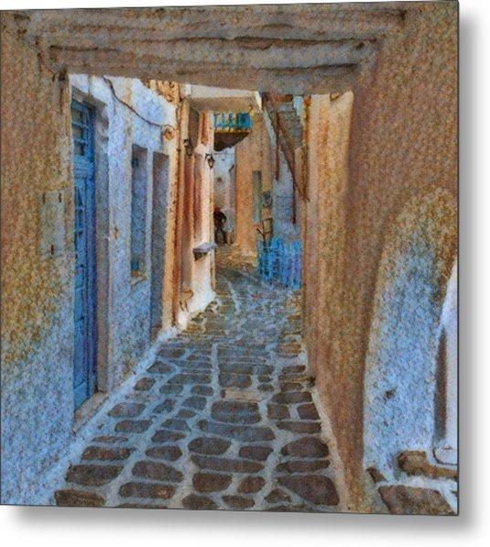 Paros Beauty Island Greece  Metal Print