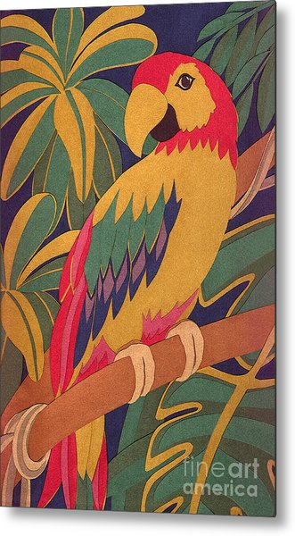 Parrot Metal Print by Lucyna A M Green
