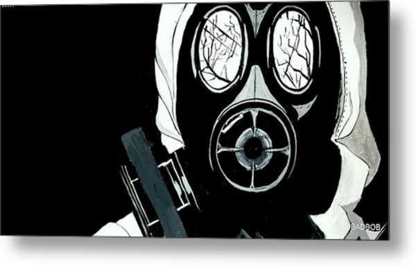 Pass Gas Metal Print