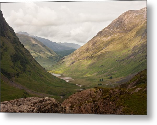 Pass Of Glencoe II Metal Print