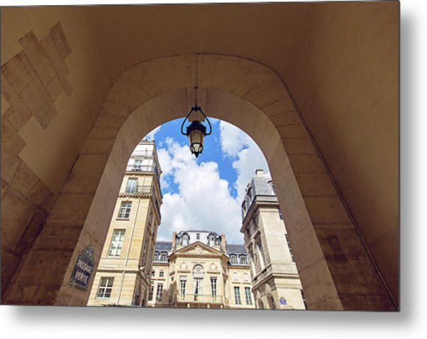 Passage Verite - Paris, France Metal Print