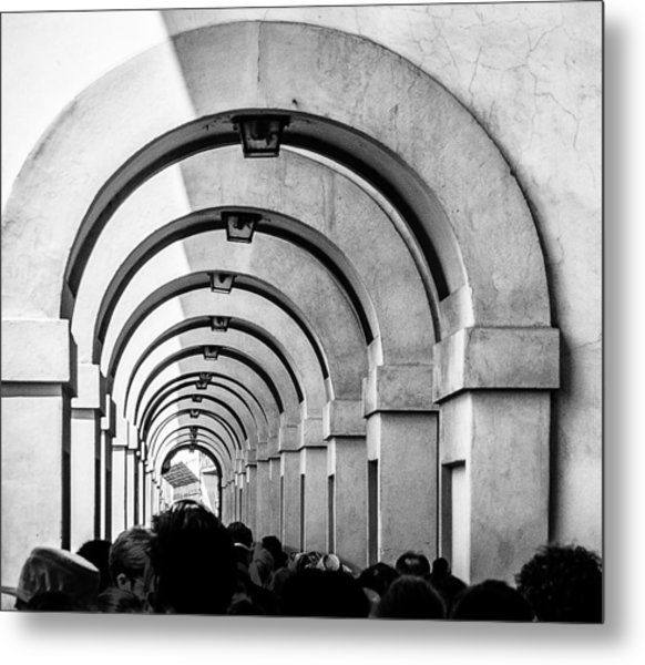 Passageway At The Arno Metal Print