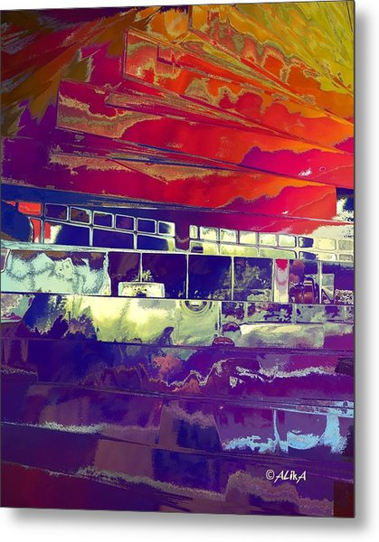 Passing Attraction Metal Print