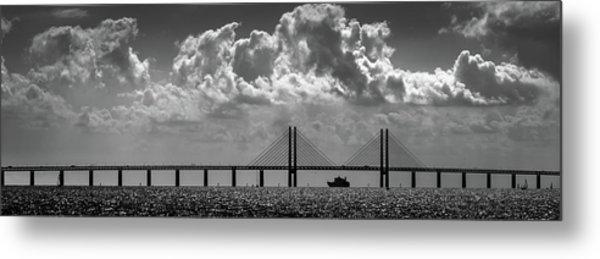 Passing Through Metal Print