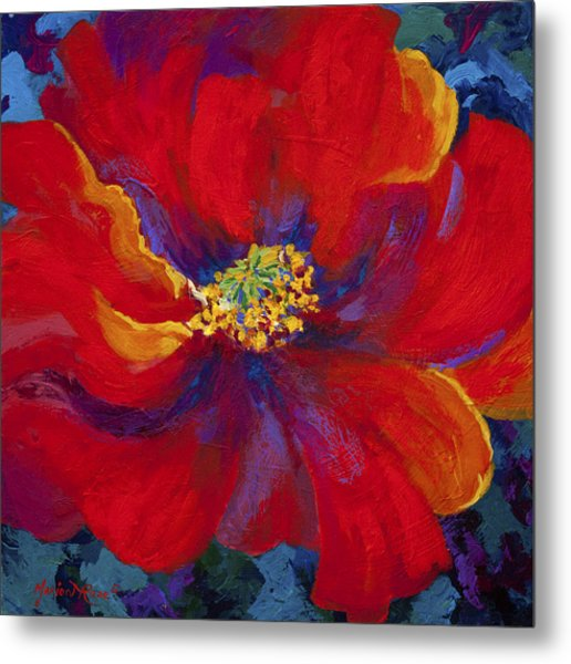 Passion - Red Poppy Metal Print