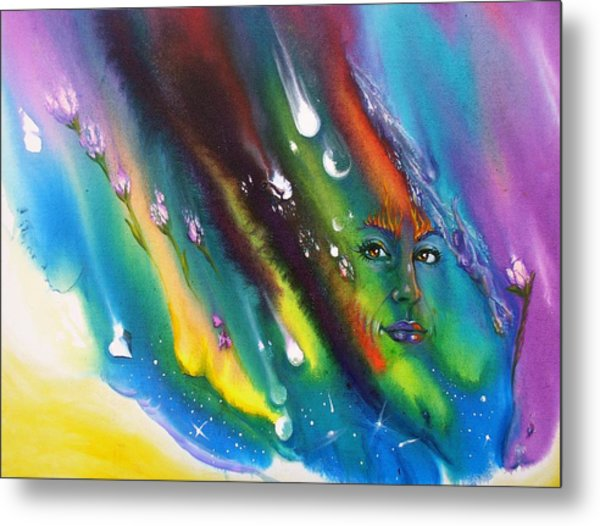 Passionate Thoughts Metal Print by Sofanya White