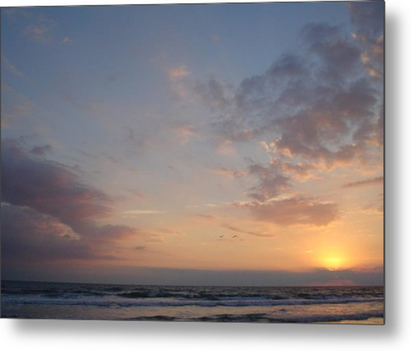 Pastel Breeze Metal Print