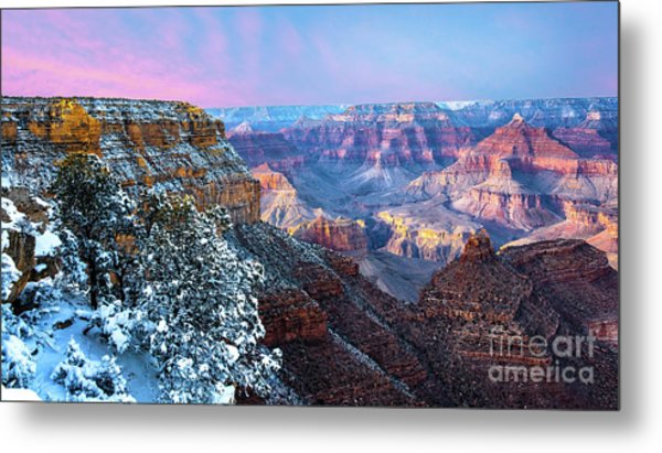 Pastel Canyon Metal Print