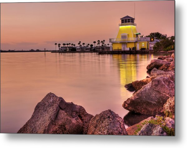 Pastels At Dusk Metal Print