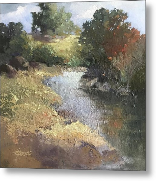 Metal Print featuring the painting Pastoral by Helen Harris
