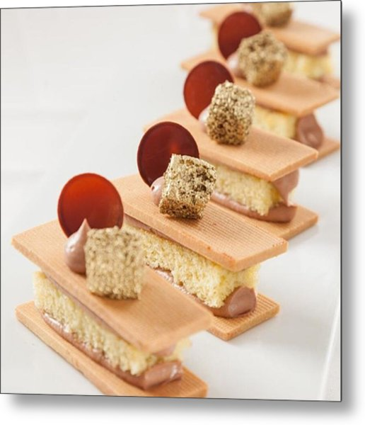 Pastry By The Famous Chef Antonio Metal Print
