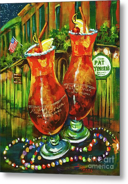 Pat O' Brien's Hurricanes Metal Print