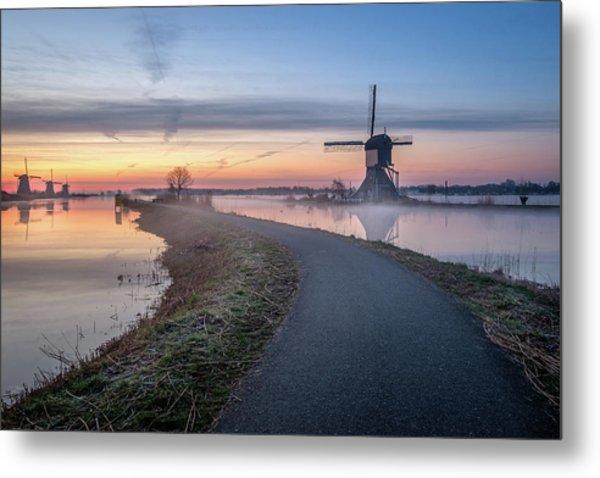 Path Through Windmill City Metal Print