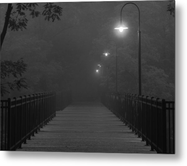 Path To Darkness Metal Print