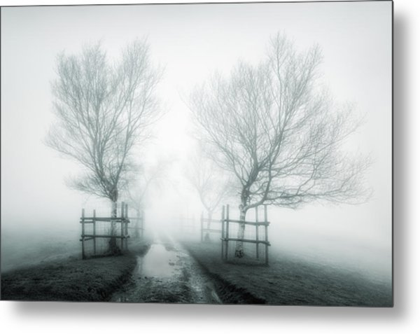 Path To Nowhere II Metal Print