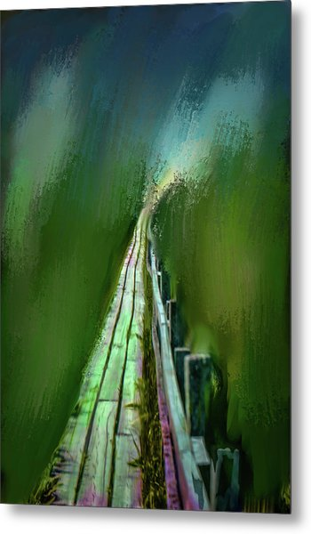 Path To The Unknown #h5 Metal Print