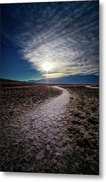 Pathway To Death Valley  Metal Print by Bryan Moore