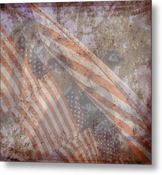 Patriotic Lab Metal Print