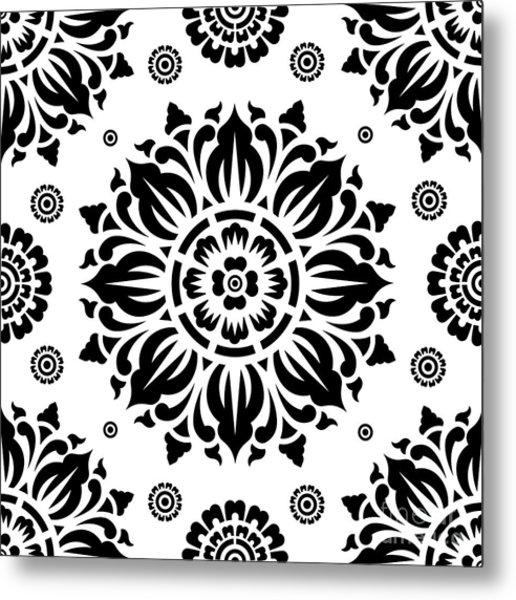 Pattern Art 01-2 Metal Print
