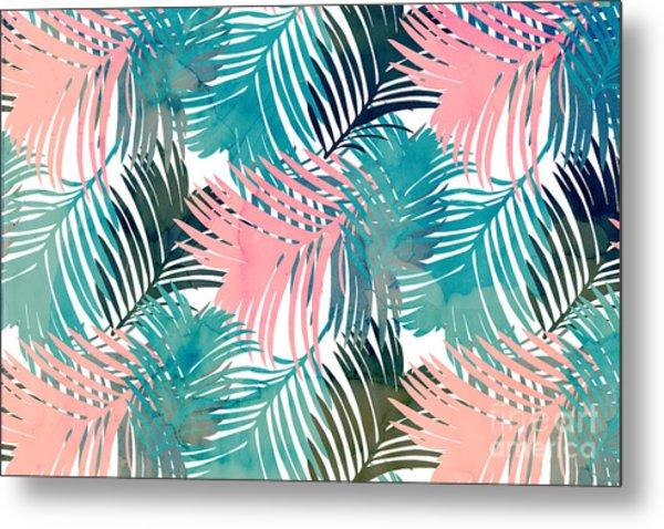 Pattern Jungle Metal Print