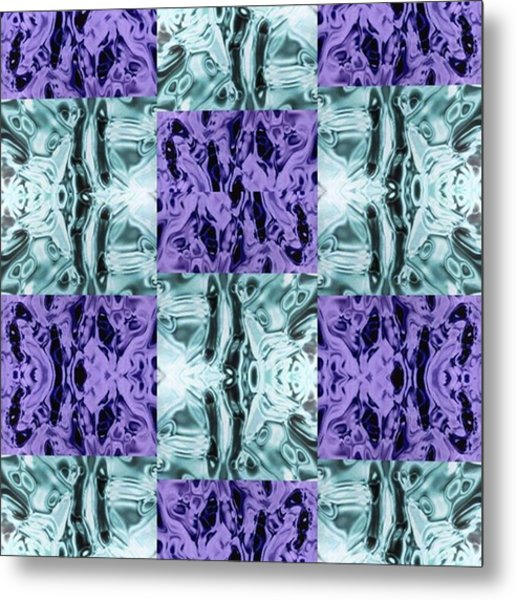 Ultra Violet  And Water  Metal Print