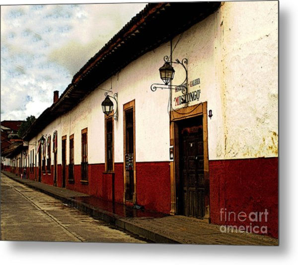 Patzcuaro Colors Metal Print by Mexicolors Art Photography