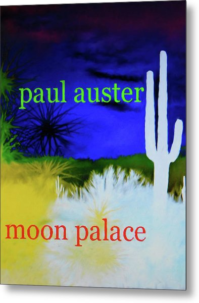 Paul Auster Poster Moon Palace Metal Print